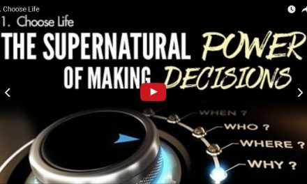 The Supernatural Power of Making Decisions