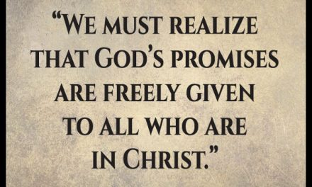 You say these promises are ours in Christ, so why aren't they happening?