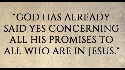 I want to receive God's promises, but evidently He hasn't chosen to give them to me yet!