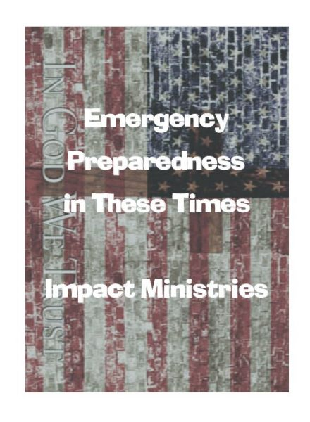 FREE Emergency Preparedness Checklist