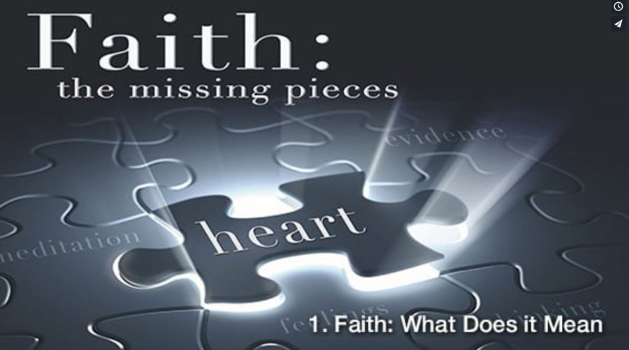 Faith the Missing Pieces