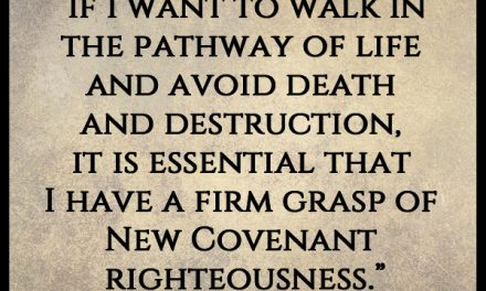 Sometimes when I hear you talk about faith-righteousness I get confused!
