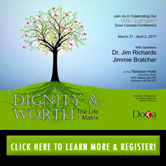 DOXA CANADA-DIGNITY AND WORTH CONFERENCE