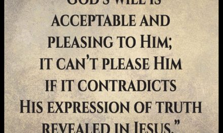 I have such difficulty finding the perfect will of God!