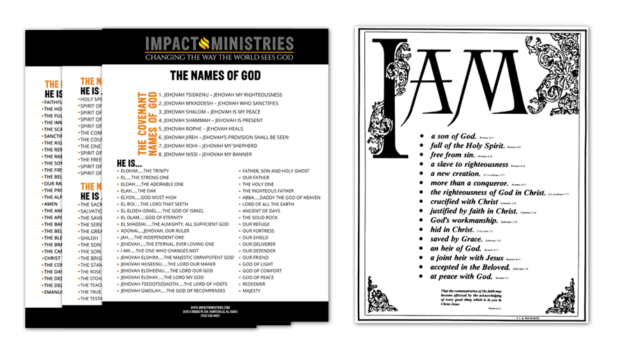 Names Of God: The Names Of God Document