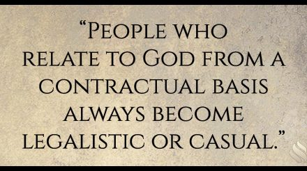 It seems that some people are afraid of God and those who aren't are too casual with Him.