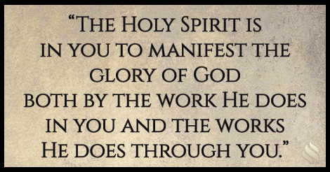How did jesus manifest the glory of god impact ministries how did jesus manifest the glory of god the holy spirit thecheapjerseys Images