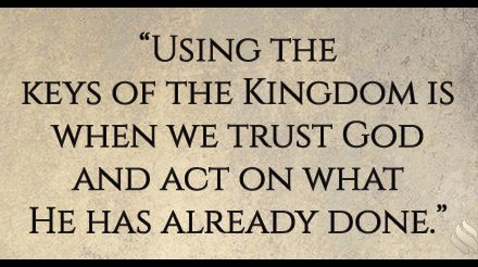 Why are you asking God to do what He's already done?