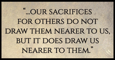 Why do I feel so compelled to keep doing things for those who have no value for me?