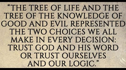 Why did God put the tree of knowledge of good and evil in the Garden?